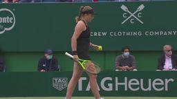 Skrót meczu Jelena Ostapenko - Anett Kontaveit
