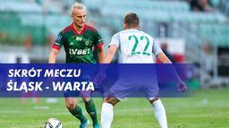 Skrót meczu Śląsk - Warta