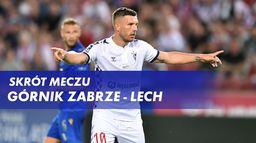 Skrót meczu Górnik Zabrze - Lech