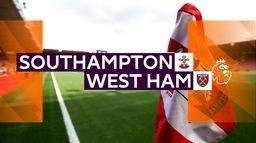 Skrót meczu Southampton - West Ham