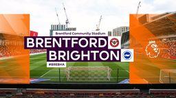 Skrót meczu Brentford - Brighton