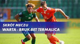 Skrót meczu Warta - Bruk-Bet Termalica