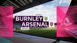 Skrót meczu Burnley - Arsenal