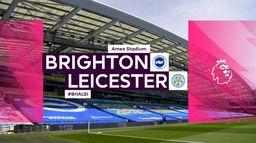 Skrót meczu Brighton - Leicester