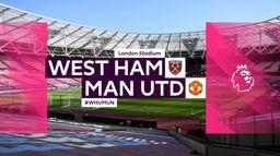 Skrót meczu West Ham - Manchester United