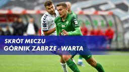 Skrót meczu Górnik Zabrze - Warta