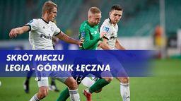 Skrót meczu Legia - Górnik Łęczna