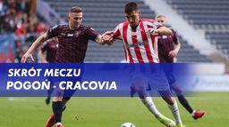 Skrót meczu Pogoń - Cracovia