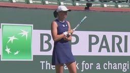 Skrót meczu Iga Świątek - Veronika Kudermetova