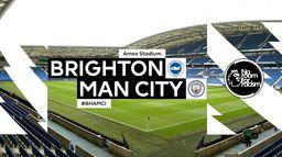 Skrót meczu Brighton - Manchester City