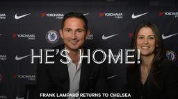 Frank Lampard - Nouvel entraîneur de Chelsea