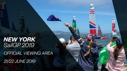 SailGP à New-York du 21 au 22 juin