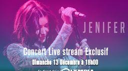 Jenifer en concert unique depuis l'Olympia