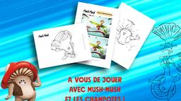 Kit de jeux Mush-Mush & les Champotes