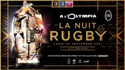 Tous les talents ont rendez-vous à l'Olympia pour la 17ème nuit du rugby !
