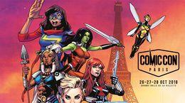 Rdv sur le stand CANAL au Comic Con Paris 2018 !