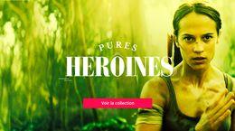 Mois 100% pure Héroïnes sur Frisson !