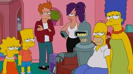 De X-Files à Futurama, 3 crossovers inoubliables des Simpson avec d'autres séries