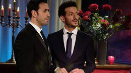 Et si le vrai couple de La Flamme, c'était Marc et le présentateur?