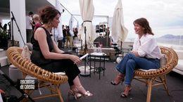 Rencontre avec Sophie Marceau pour le film TOUT S'EST BIEN PASSÉ