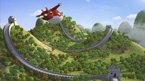 La course de la Grande Muraille