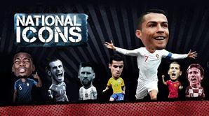 National Icons : Eusebio vs Cristiano Ronaldo