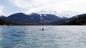 Nager en eau froide