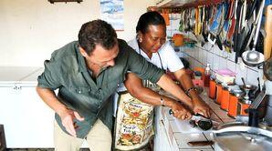Fred Chesneau au Cameroun