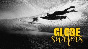 Globe surfeurs : Pacifique : un atoll sur l'horizon