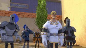 Le chevalier de la route