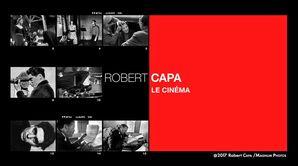 Robert Cap : le cinéma