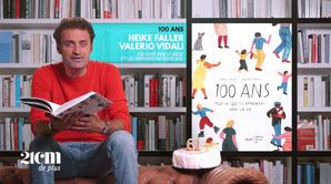 """100 ans"" - Heike Faller et Valerio Vidali - 21 cm de +"