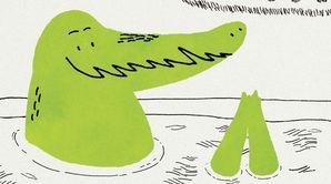 Pedro Crocodile et George Alligator