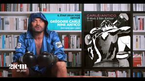 """""""Il était 2 fois Arthur"""" - Grégoire Carlé et Nine Antico - 21 cm de +"""