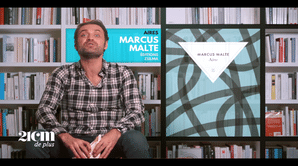 """""""Aires"""" - Marcus Malte - 21 cm de +"""