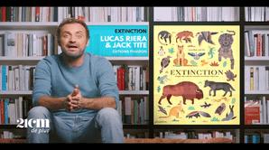"""""""Extinction"""" - Lucas Riera et Jack Tite - 21 cm de +"""