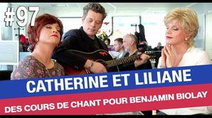 Cours de chant pour Benjamin Biolay - Émission du 06 avr. 2017
