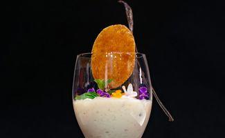 Riz au lait et crème de corossol