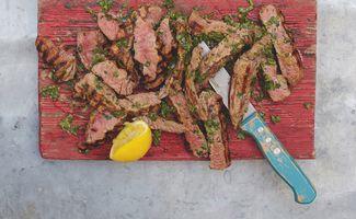 Steak Grillé et Ratatouille