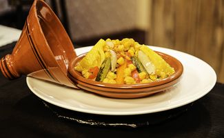 Couscous Marocain au Boeuf et Légumes du Soleil