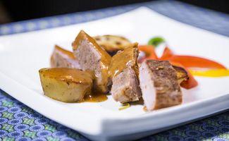 Filet de porc aux rondelles de patates douces