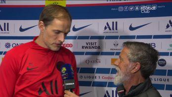 La réaction de Thomas Tuchel : PSG / Bordeaux
