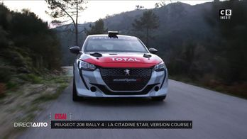 Peugeot 208 Rally 4 : la citadine star, version course !