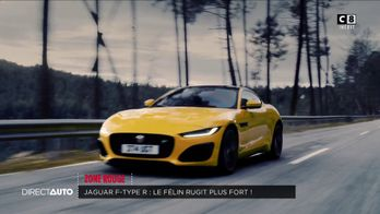 Zone Rouge : Jaguar F-Type R