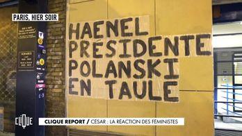 César : la réaction des féministes
