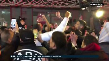 Kurzawa fête la victoire avec les supporters du PSG : Late Football Club