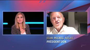 Jean-Michel Aulas en direct dans le CSC : Canal Sports Club