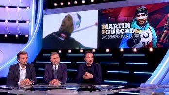 Martin Fourcade range ses skis au sommet : Canal Sports Club