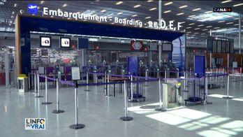 A Orly, le dernier vol d'Air France est parti et l'aéroport est totalement à l'arrêt