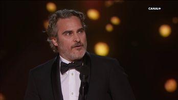 Joaquin Phoenix remporte l'Oscar du Meilleur Acteur pour Joker - Oscars 2020